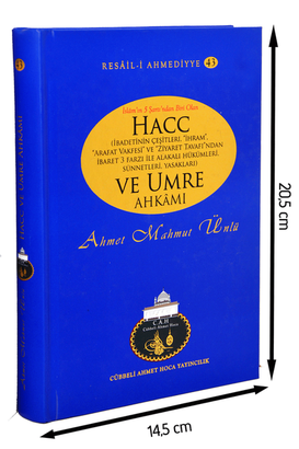 Cübbeli Ahmet Hoca Yayıncılık - Cübbeli Ahmed Hoca Hac ve Umre Ahkamı -1142