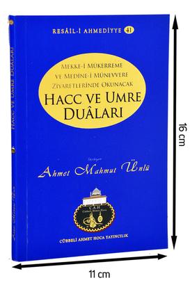 Cübbeli Ahmet Hoca Yayıncılık - Cübbeli Ahmed Hoca Hac ve Umre Duaları Kitabı-1155