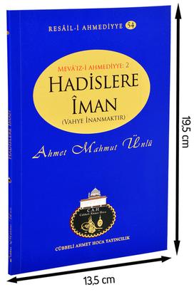 Cübbeli Ahmet Hoca Yayıncılık - Cübbeli Ahmed Hoca Hadislere İman Kitabı-1179