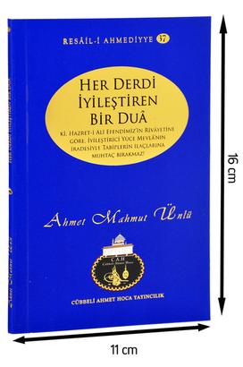 Cübbeli Ahmet Hoca Yayıncılık - Cübbeli Ahmed Hoca Her Derdi İyileştiren Bir Dua Kitabı-1145