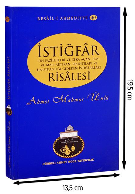 Cübbeli Ahmed Hoca İstiğfar Risalesi Kitabı-1147