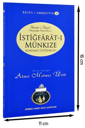 Cübbeli Ahmet Hoca Yayıncılık - Cübbeli Ahmed Hoca İstiğfaratı Münkıze Kitabı-1175
