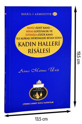 Cübbeli Ahmet Hoca Yayıncılık - Cübbeli Ahmed Hoca Kadın Halleri Risalesi-1130