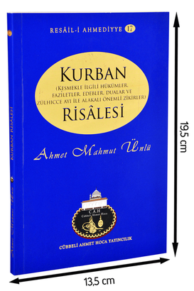 Cübbeli Ahmed Hoca Kurban Risalesi-1174