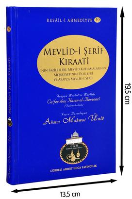 Cübbeli Ahmet Hoca Yayıncılık - Cübbeli Ahmed Hoca Mevlid-i Şerif Kıraati Kitabı-1171