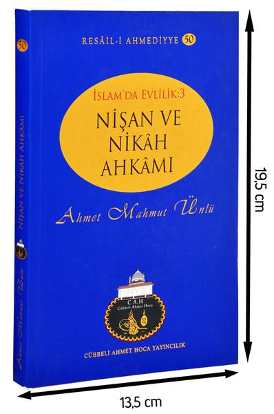 Cübbeli Ahmet Hoca Yayıncılık - Cübbeli Ahmed Hoca Nişan ve Nikah Ahkamı-1194