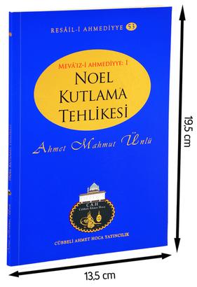 Cübbeli Ahmet Hoca Yayıncılık - Cübbeli Ahmed Hoca Noel Tehlikesi Kitabı-1193