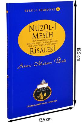 Cübbeli Ahmet Hoca Yayıncılık - Cübbeli Ahmed Hoca Nuzul-i Mesih Risalesi -1185