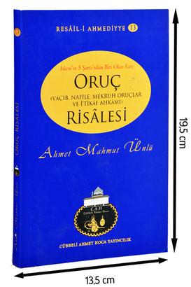 Cübbeli Ahmet Hoca Yayıncılık - Cübbeli Ahmed Hoca Oruç Risalesi-1143