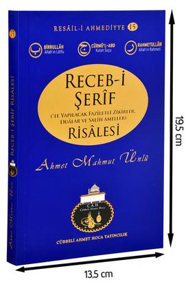 Cübbeli Ahmet Hoca Yayıncılık - Cübbeli Ahmed Hoca Recebi Şerif Risalesi -1141