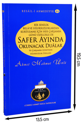 Cübbeli Ahmed Hoca Safer Ayında Okunacak Dualar Kitabı-1161