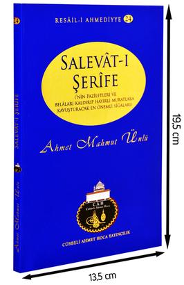 Cübbeli Ahmet Hoca Yayıncılık - Cübbeli Ahmed Hoca Salavât-ı Şerîfe Kitabı-1181