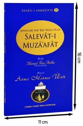 Cübbeli Ahmet Hoca Yayıncılık - Cübbeli Ahmed Hoca Salevât-ı Muzâ'afât Kitabı-1162