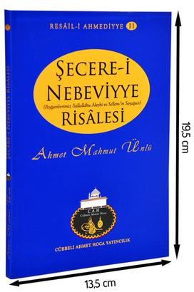 Cübbeli Ahmet Hoca Yayıncılık - Cübbeli Ahmed Hoca Şecere-i Nebeviyye Kitabı-1166