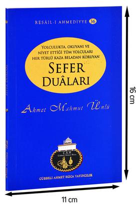 Cübbeli Ahmet Hoca Yayıncılık - Cübbeli Ahmed Hoca Sefer Duâları Kitabı--1172