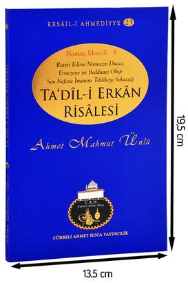 Cübbeli Ahmet Hoca Yayıncılık - Cübbeli Ahmed Hoca Ta'dili Erkan Kitabı-1191