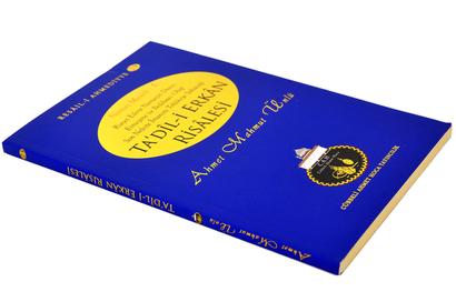 Cübbeli Ahmed Hoca Ta'dili Erkan Kitabı-1191
