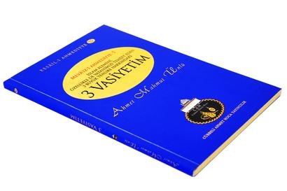 Cübbeli Ahmed Hoca Üç Vasiyetim Kitabı-1190