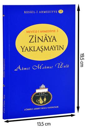 Cübbeli Ahmet Hoca Yayıncılık - Cübbeli Ahmed Hoca Zinaya Yaklaşmayın Kitabı-1154