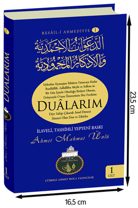Cübbeli Ahmet Hoca Dualarım Kitabı-1149