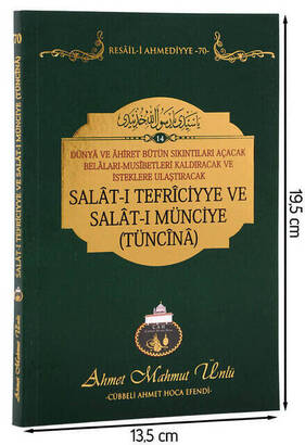 Cübbeli Ahmet Hoca Yayıncılık - Cübbeli Ahmet Hoca - Salat-ı Tefriciyye ve Salat-ı Münciye