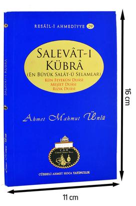 Cübbeli Ahmet Hoca Yayıncılık - Cübbeli Ahmet Hoca - Salevât-ı Kübrâ -1170