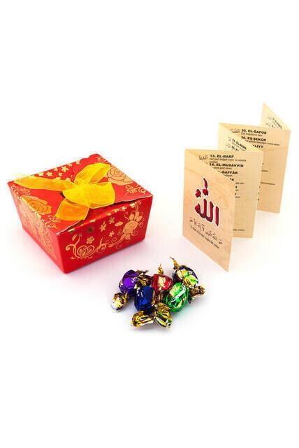 Damla Esmaül Hüsna Sugar Cube Mevlidi Nebi Gift