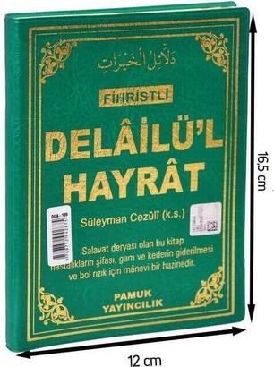Pamuk Yayınevi - Delailül Hayrat -Fihristli-1365