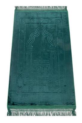 İhvan - Deluxe Soft Seccade - Yeşil