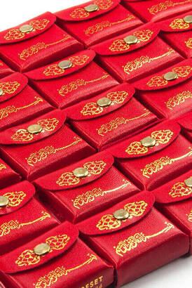 İhvan - Deri Çantalı Mini Kuranı Kerim - Sade Arapça - Kırmızı Renk - 25 Adet