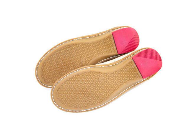 Deri Ortopedik Bayan Ayakkabı - Krem