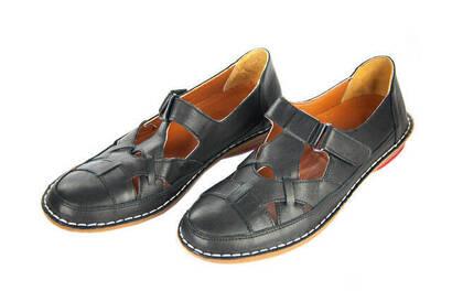 İhvan - Deri Ortopedik Bayan Ayakkabı - Siyah
