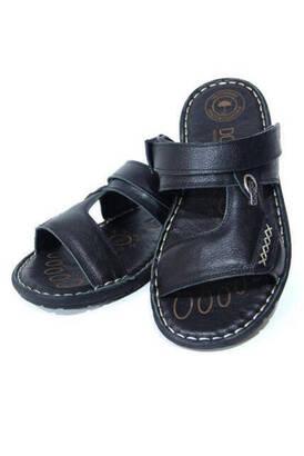 Dosso - Deri Terlik Sandalet Hac Umre Sandaleti