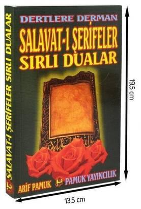 Pamuk Yayınevi - Dertlere Derman Salavat-ı Şerifeler ve Sırlı Dualar-1295