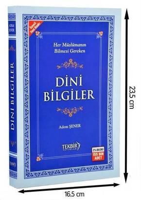 TEKBİR YAYINLARI - Dini Bilgiler - Karton Kapak-1423