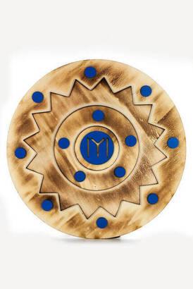 4 - Diriliş Ertuğrul Kalkan - Wooden Board Toy Shield - Blue