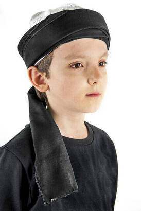 İhvan - Dolama Sarık Bezi - Siyah