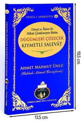Cübbeli Ahmet Hoca Yayıncılık - Düğümleri Çözecek Kıymetli Salevatlar Kitabı-1124