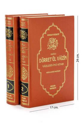 Huzur Yayınevi - Dürret'ül Vâizîn - 2 Volumes - Huzur Publishing House