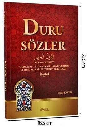 Akasya Yayıncılık - Duru Sözler (Muhtasar Şafi İlmihali) -1440
