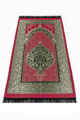 İhvan - Ekonomik Osmanlı Tafta Seccade - 0150 - Bordo