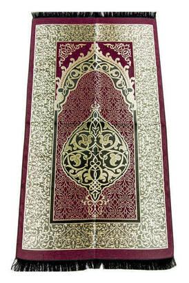 İhvan - Ekonomik Osmanlı Tafta Seccade - 0150 - Fuşya Renk