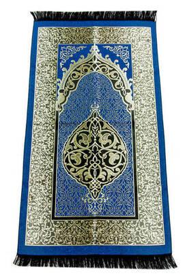 İhvan - Ekonomik Osmanlı Tafta Seccade - 0150 - Lacivert Renk