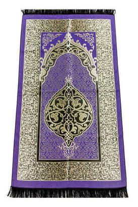İhvan - Ekonomik Osmanlı Tafta Seccade - 0150 - Lila Renk