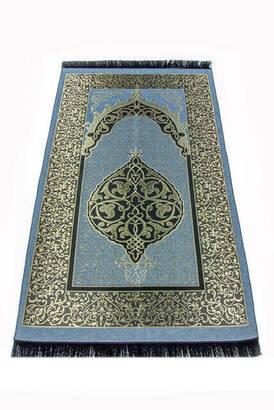 İhvan - Ekonomik Osmanlı Tafta Seccade - 0150 - Mavi