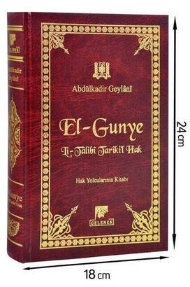 El Gunye Li Talibi Tarikil Hak - Gelenek Yayınları-1544