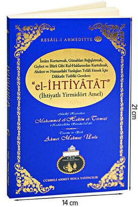 Cübbeli Ahmet Hoca Yayıncılık - El-İhtiyâtât (İhtiyatlı Yirmidört Amel) Cübbeli Ahmet Hoca -1125
