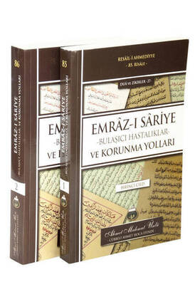 Cübbeli Ahmet Hoca Yayıncılık - Emraz-ı Sariye - Bulaşıcı Hastalıklar ve Korunma Yolları - 1 ve 2 Cild