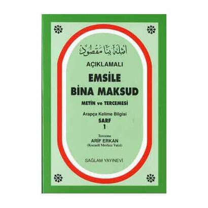 Emsile Bina Maksud Metin ve Tercümesi-1934