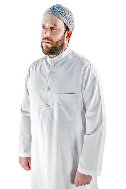 Erkek Entari - Beyaz - 3135